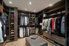 Caulfeild - contemporary - closet - vancouver - Old World Kitchens & Custom Cabinets