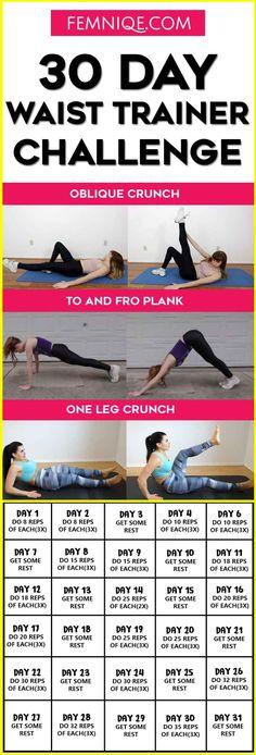 30 Day Waist Trainer Challenge
