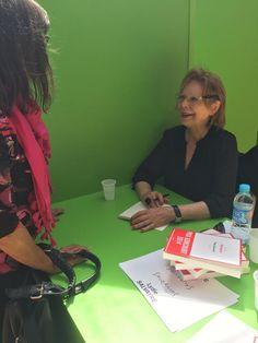 La Comédie du Livre à commercé ! Venez rencontrer Lydie Salvayre et de nombreux autres auteurs sur les stands Sauramps #Evénement #ComédieDuLivre2015 #Auteur #PrixGoncourt #Rencontre #Dédicace
