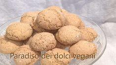 Paradiso dei Dolci Vegan: Amaretti secchi vegan (tipo di Saronno) con acquafaba