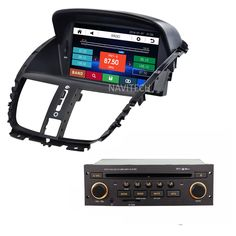 Car dvd player for Peugeot 207  sw cc 2007-2014 GPS Navigation Radio stereo RDS  Bluetooth iPod USB multimedia free gps map
