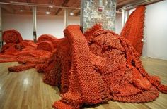 Orly Genger, knit room