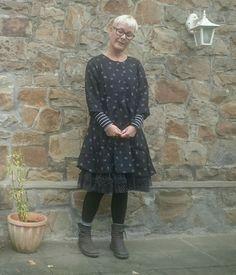 Rather whimsical witchypoo wear! -- Kre.  Gudrunsjöden #gudrungirl #luisa dress
