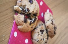 Cookies bacon & chocolat - Clea cuisine  http://www.cleacuisine.fr/biscuits-cookies/cookies-bacon-chocolat-meat-and-me/