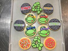 Teenage Mutant Ninja Turtles...Log House Cookies