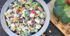 When I make broccoli salad, I usually make my Mom's broccoli salad - which is probably the version most people are familiar with. It...