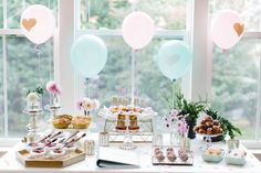 Read More on SMP: http://www.stylemepretty.com/living/2016/01/08/gender-reveal-brunch-party/