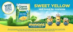 The Crazy Kitchen: Minion Sweetcorn Fritters - #greengiantminions