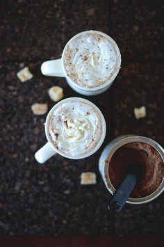 A sweet and not-too-spicy hot chocolate with a hint of ginger. Perfect for cold winter nights or as a light dessert. Vegan and gluten-free!