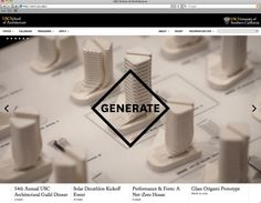 2 × 4: Project: USC School of Architecture Website