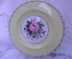 Royal Crown Derby Plate signed F Garnett - Vintage Collector's Plate by SwallowCAntiques on Etsy Kitchen Dishes, Kitchen Items, Royal Crown Derby, China Plates, Vintage Dishes, Vintage Country, Swallow, China Porcelain, Teacups