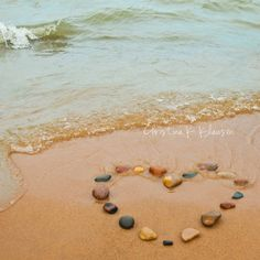 Heart Beach Photography  Waves Stones Pebbles Beach by cklausen, $23.00