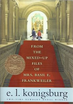 From the Mixed-up Files of Mrs. Basil E. Frankweiler by E.L. Konigsburg #Books #Kids #Adventure