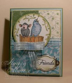 House-Mouse & Friends Monday Challenge: Challenge #5 - Paper Piecing