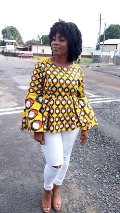African prints|Blouses