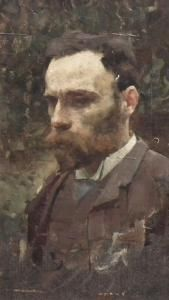 Self Portrait of John William Waterhouse