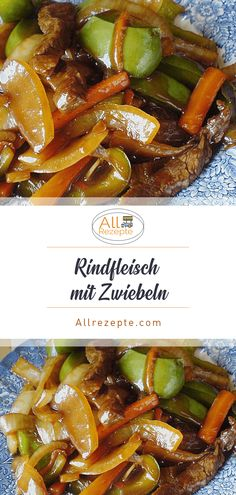Rindfleisch mit Zwiebeln – All Rezepte - Famous Last Words Beef with Onions - All Recipes - Famous L Quick Pork Chop Recipes, Pork Recipes, Asian Recipes, Crockpot Recipes, Chinese Recipes, Healthy Pork Chops, Carne, Vegetable Recipes, Dinner Recipes