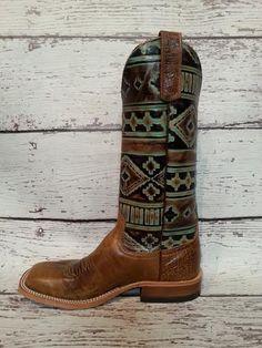 "Anderson Bean ""Santa Fe"" cowboy boots @themulebarn"