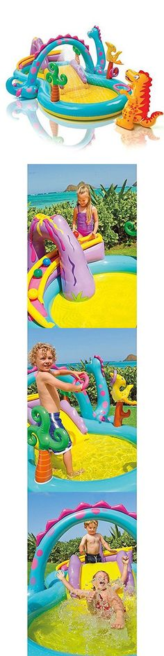 Inflatable and Kid Pools 116407: Inflatable Play Center Kids Water Slide Outdoor Fun Pool Swimming Kiddie Family -> BUY IT NOW ONLY: $55.05 on eBay!