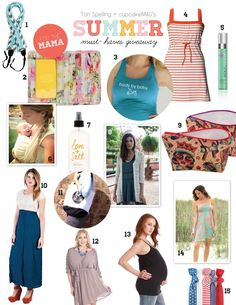 ToriSpelling.com   cupcakeMAG Summer Must-Haves Giveaway Take the chance to win Boob nursing dress Belle