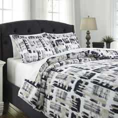 You'll love the Sherman 3 Piece Duvet Cover Set at AllModern - With Great Deals on modern Bedroom  products and Free Shipping on most stuff, even the big stuff.