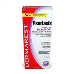 Dermarest Psoriasis Shampoo and Conditioner, 8 fl. oz. (Pack of 6) The ultimate in irritation-free psoriasis scalp relief. Repair, protect and moisturize the scalp. Relieve and control itching, scaling and flaking. Thoroughly clean hair and restore shine