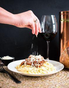 Como preparar pasta boloñesa tradicional Great Recipes, Dinner Recipes, Favorite Recipes, Email Subject Lines, Recipe Link, Recipe Community, Ground Beef, Crockpot Recipes, Side Dishes