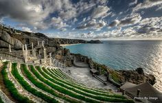 Minack Theatre, Porthcurno, England. Photo by fotosphere Images, via Flickr