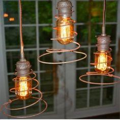 utilitarian pendant + coil = hung twister