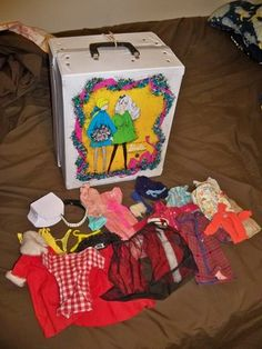 Mouse over image to zoom    Sell one like this  Vintage 1968 World Of Barbie Doll Trunk Case Clothes Accessories Mattel
