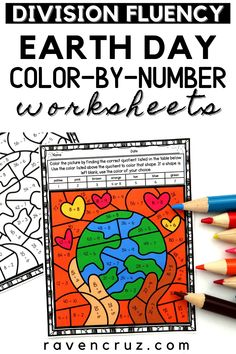 Get these Earth Day division color-by-number worksheets to treat your students this April. They are perfect for 3rd-grade and 4th-grade math students. #mathwithraven Earth Day Activities, Math Activities, Multiplication Facts Practice, Common Core Math Standards, Number Worksheets, Third Grade Math, Homeschool Math, Elementary Math, Math Resources
