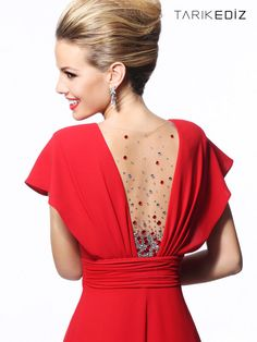 Evening Party & Night Dresses - Tarık Ediz 2013 abiye modelleri (2)