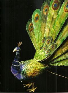 Faberge peacock