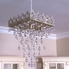 Design chandelier yourself, i did!