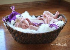 Download PDF crochet pattern  Sleepy Owl hat by BeezyMomsCreations, $5.95