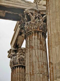 Temple of Olympian Zeus, Athens, Greece Architecture Antique, Ancient Greek Architecture, Classical Architecture, Architecture Details, Windows Architecture, Greece Architecture, Architecture Sketches, Historical Architecture, Ancient Rome