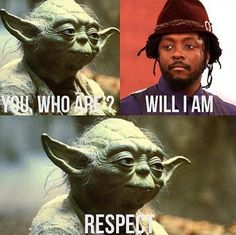 Yoda meets his match.