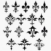 Collection of Fleur-de-lis designs