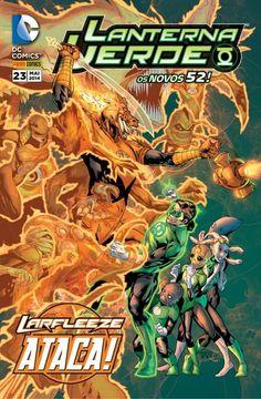LIGA HQ - COMIC SHOP Lanterna Verde 52 #23 - Lanterna Verde - DC Comics PARA OS NOSSOS HERÓIS NÃO HÁ DISTÂNCIA!!!