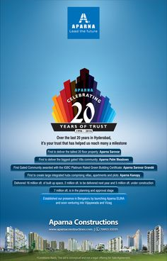 Aparna Celebrating 20Years