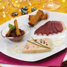 Assiette Gourmande E. Artzner - Copyright ARdV - Foie Gras Artzner