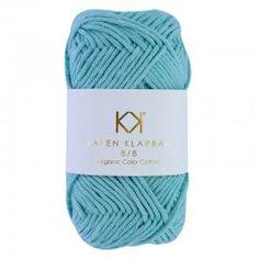 8/8 Turquoise - KK Color Cotton økologisk bomuldsgarn fra Karen Klarbæk Kobe, Winter Hats, Turquoise, Cardigans, Cotton, Fashion, Threading, Moda, Fashion Styles