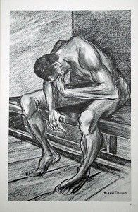 Ernie Barnes - To Know Defeat Artist Signed