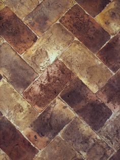 brown clay tiled pavement