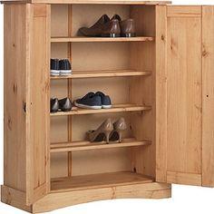 Buy Puerto Rico 2 Door Storage Cabinet - Solid Antique Pine at Argos.co.uk, visit Argos.co.uk to shop online for Shoe storage