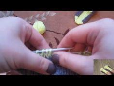 Простые следки на двух спицах - YouTube