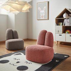 Kindersessel in Rosa - Jetzt Online bestellen Floor Chair, Modern, Flooring, Furniture, Home Decor, Pink, Living Room, Trendy Tree, Hardwood Floor