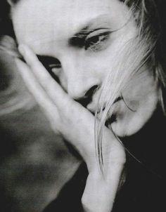 Uma Therman by Brigitte Lacombe