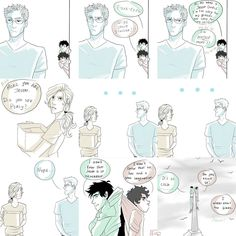 This is funny, but I don't think Jason is capable of that, he's too nice (Frank's nicer). I think Annabeth would force Jason to put them up there!!