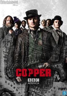 O novo pôster da segunda temporada de Copper está incrível.